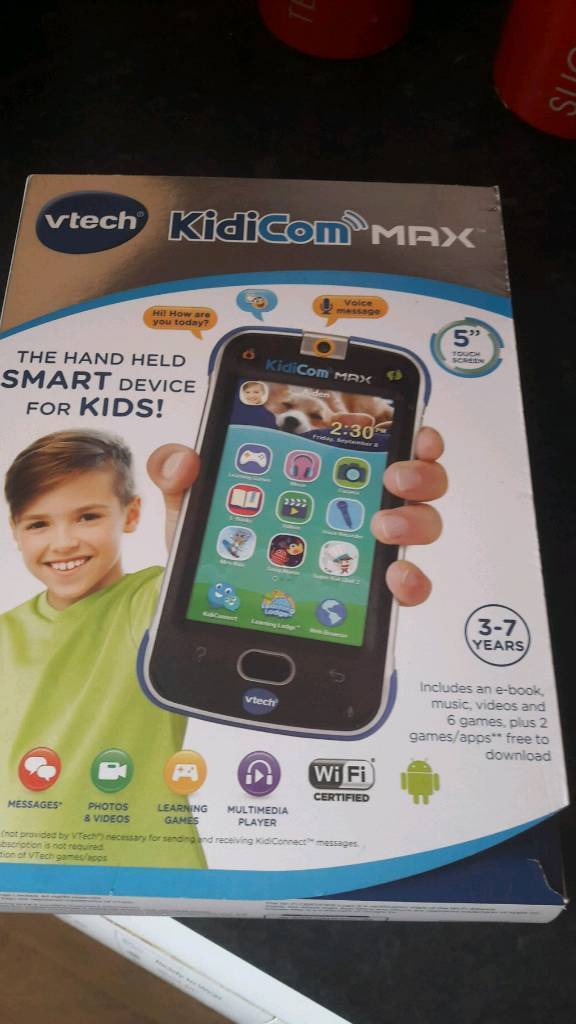 Vtech Kidicom Max Phone Blue Boxed Bargain In Patchway Bristol
