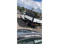 Bargain!! ford transit double crew cab tipper swap px