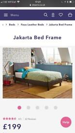 Dreams Single Bed frame and Mattress
