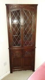 REDUCED!!! Old Charm Corner China Cabinet