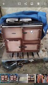 Rayburn cooker (oil)