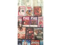 Multiple DVD's for sale