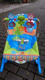 Fisher Price baby to toddler rocker chair