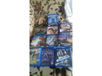 Blu ray films and simpsons dvds