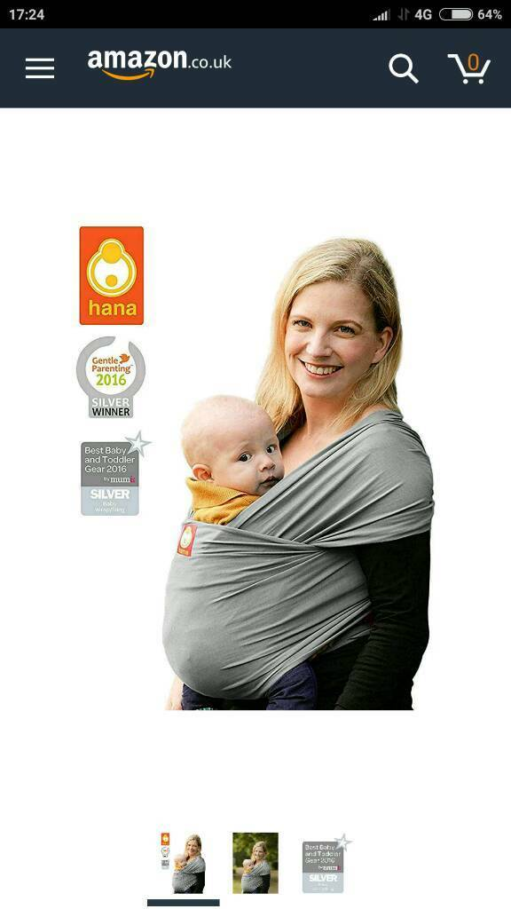 Hana Baby Wrap Sling In Stretford Manchester Gumtree