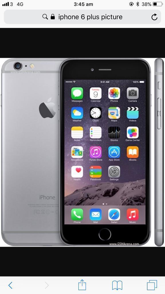 Apple iPhone 6 64 gb unlocked ammaculate space grey