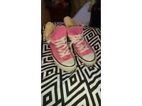 Pink converse uk 5/38