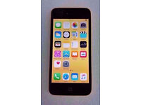 APPLE IPHONE 5C 16GB YELLOW UNLOCKED WITH RECEIPT
