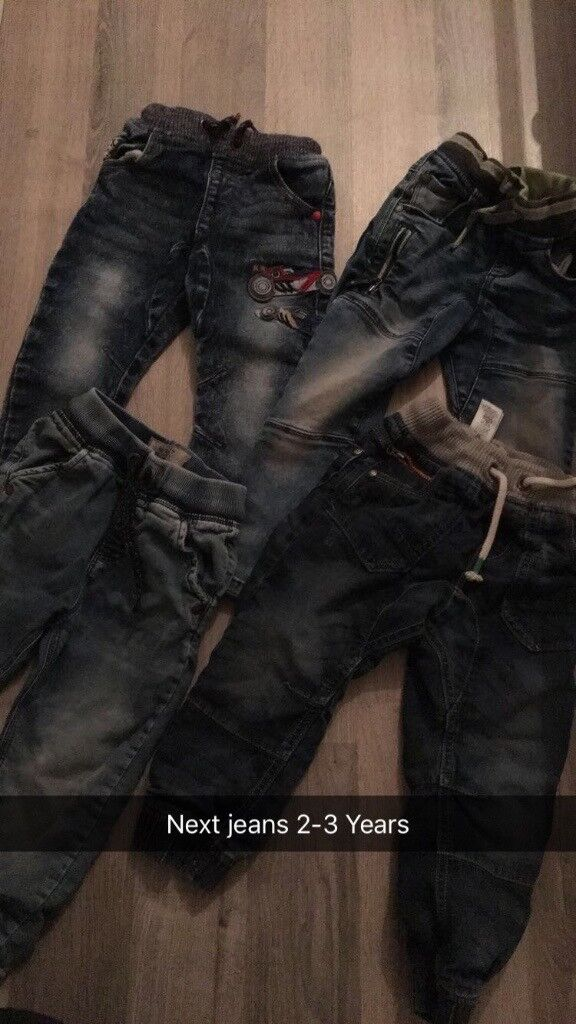 Four pairs of next jeans