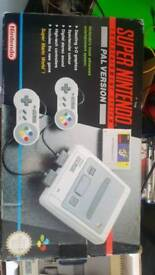 Snes and games