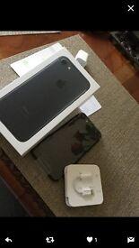 iPhone 7, 128GB Matte Black - o2