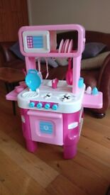 Little Cooks Toy Kitchen ELC Usually £80, yours for £10 !!!! ****** plus ELC Happyland Rocket