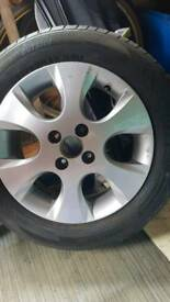 "15"" Alloy wheel"