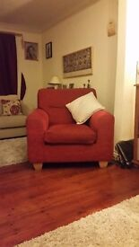 Sofa & armchairs - red
