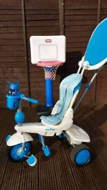 Baby blue smart trike