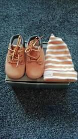 Timberland crib boots