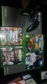 Xbox one x and games