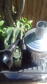 Small Jerry Can Plus Garden incinerator