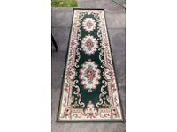 Carpet runner, suitable for hall or passageway. Carpet runner protector, plastic