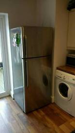 Large Family Hisense stainless steel fridge freezer