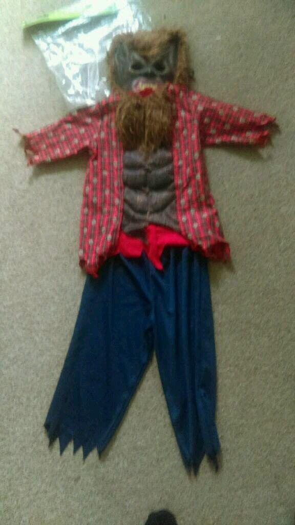 Werewolf costume age 5-6