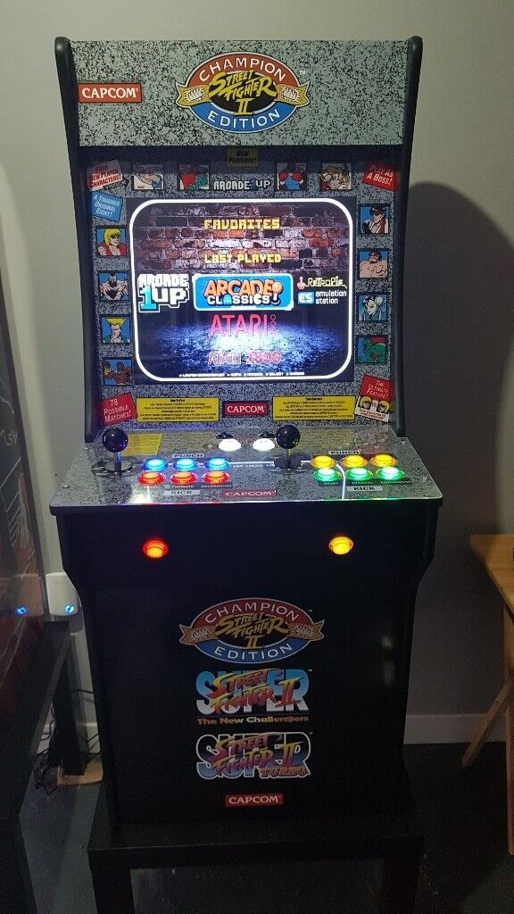 Street Fighter Arcade 1up Converted To Multi Game Machine Suit Man Cave Or  Games Room | in Bradford, West Yorkshire | Gumtree
