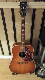 GIBSON USA HUMMINGBIRD + GIBSON HARD CASE(2012)