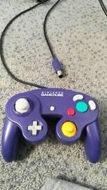 Nintendo GameCube official purple controller