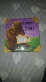 Daddy bear childrens story book