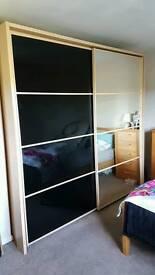 Double sided wardrobe