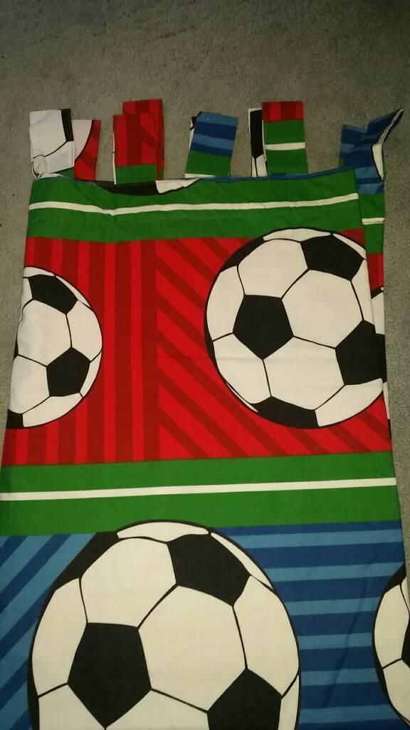 Football curtains