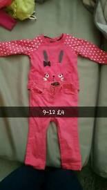 9-12 months girl bundle