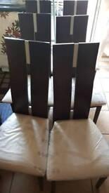 6x chairs