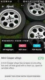 Mini Cooper alloys
