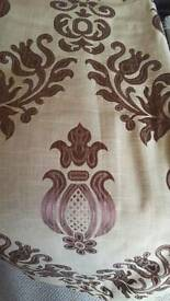 Luxurious ready to hang curtains