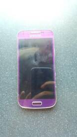 Purple Samsung S4 mini