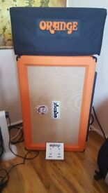 Amp (Head+Cab) Pedal Board and Pedals