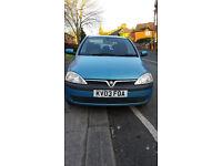 Corsa 1.2 litre 16V..5 doors. 2003 reg... may swap