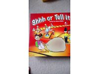 Shh or Tell It -game