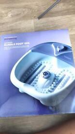 Foot spa and bath spa