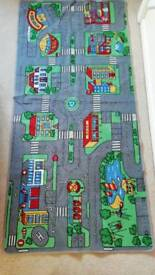 Road carpet rug play mat