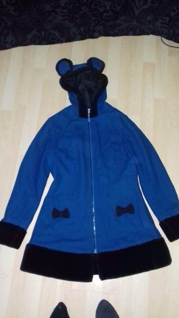 Banned blue ladies coat size 10