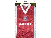 Wanted vintage West Ham items