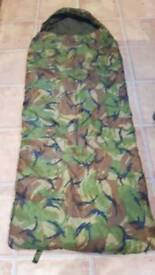 Kids camouflage sleeping bag