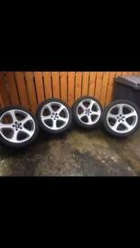 BMW X5 Wheels, very good condition, may fit others..