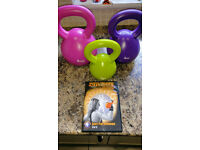 Buy Kettlebell DVD, get three kettlebells free !!!! Great Starter Set **