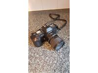 Chinon CP-7m SLR camera, complete with 35 to 70mm zoom lens.
