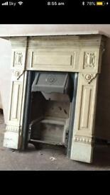 Biclam fireplace antique