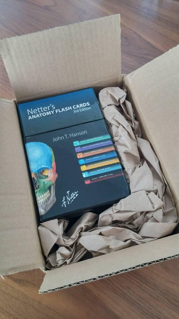 Netter\'s Anatomy Flash cards | in London | Gumtree