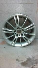 "Genuine Bmw Mv3 18"" 8.5J Rear Alloy Wheel"